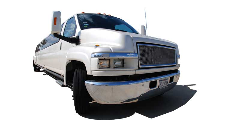 Houston Limo Service - Stretch Limo GMC Kodiak TopKick<