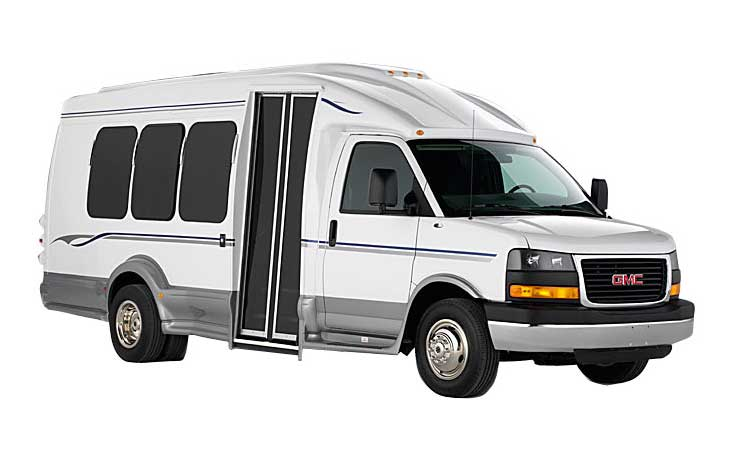 Houston Limo Service - Corporate Limo Bus
